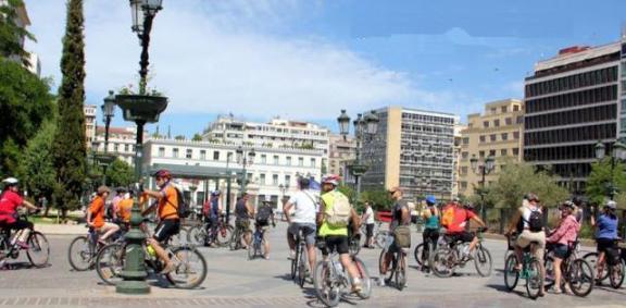 Οι ποδηλάτες