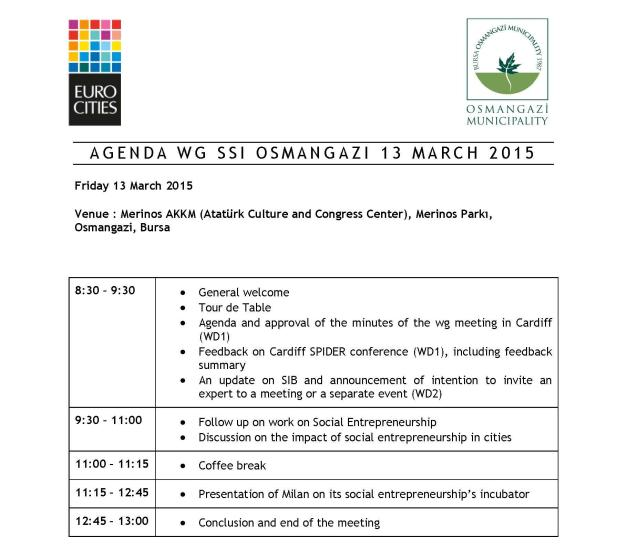 Final Agenda WG SSI Osmangazi Πρόγραμμα