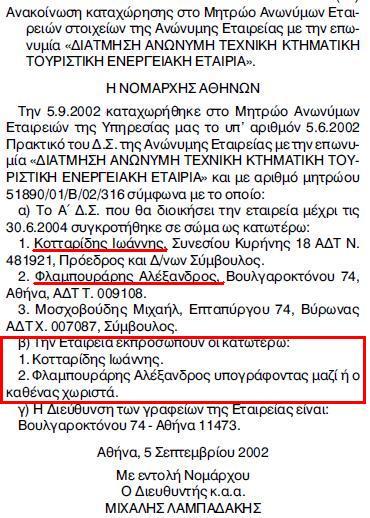 Πρώτο Δ.Σ. έτος 2002