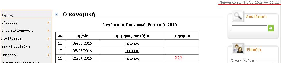 Οικ, Επ. εισηγήσεις 26-4-2016