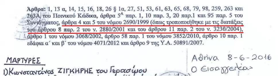 Ν. 2690 εισαγγελέας